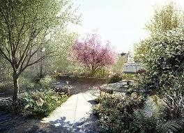 garden bridge to represent