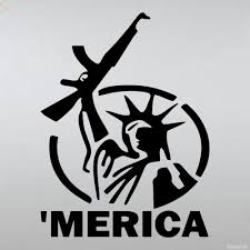 Decal Merica With Ak 47 Parody On The Statue Of Liberty Buy Vinyl Decals For Car Or Interior Decal Factory Stickerpro Different Colors And Sizes Is Avalable Free World Wide Delivery