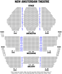 london and off broadway seating charts