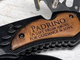 Padrino Godmother Gift Personalized Godfather Gift Madrina | Etsy