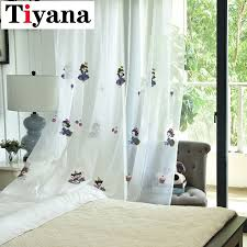 Cartoon Princess Printed Sheer Curtains For Children Kids Room Cortina Tulle Curtain For Baby Girls Room Home Decoration Jk087z Leather Bag