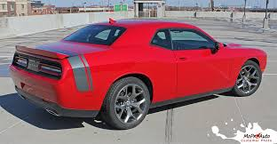 Dodge Challenger Rear Trunk Stripe Scat Pack Qp Side Quarter Panel Decals Stripes Vinyl Graphic Fits 2011 2020 Moproauto Professional Vinyl Graphics And Striping