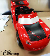 Carbon Fiber Vinyl Decal Toy Car Orlando Signs