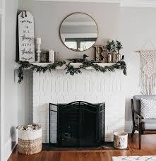 fireplace mantel decor mantel