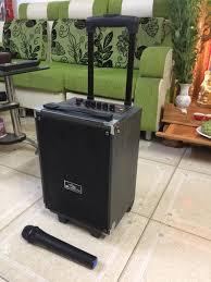 Loa Kéo Karaoke Bluetooth Kiomic Q8 Vân Gỗ Điều Chỉnh Bass, Treble ...