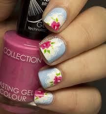 14 beautiful rose nail art designs
