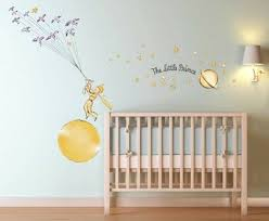 Le Petit Prince Stars Wall Decal Sticker Art Kids Room Kids Room Wall Decals Kids Room Wall Art Kids Room Wall