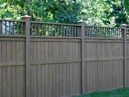 Privacy Fence Love The Gray Stain One Day For Honey Backyard Ideas Garden Diy Bbq Hammock Pation Backyard Fences Vinyl Privacy Fence Fence Design