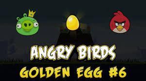 Angry Birds - Golden Egg #6 - Level 1-8 (PC Version) - YouTube