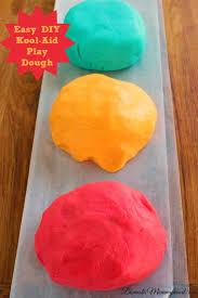 homemade kool aid play dough domestic