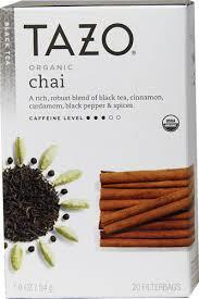 tazo organic chai ed black tea