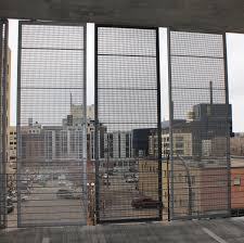 Outdoor Applications For Perforated Aluminum Panels Astro Metal Craft