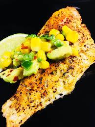 Air Fryer Catfish with Corn Avocado ...
