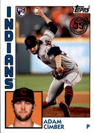 Amazon.com: 2019 Topps Series 2 Baseball 35th Anniversary 1984 '84 Rookies  #84R-AC Adam Cimber Cleveland Indians Official MLB RC Rookie Card:  Collectibles & Fine Art