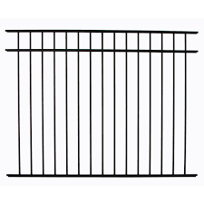 Diy Universal Fence Meriden 4 5 Ft H X 6 Ft W Aluminum Fence Panel 543 Asbury The Home Depot