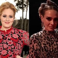 Adele, svolta di stile dopo il dimagrimento: con abito leopardato ...