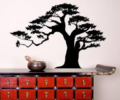 Bonsai Tree Vinyl Wall Decal Sticker Ac150 Stickerbrand