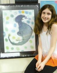 Student's art goes on exhibit – Central Jersey Archives