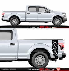 Buy Side Bed Vinyl Custom Usa Flag Stickers For Ford Raptor