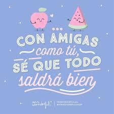 Amiga Molas Un Monton Mrwonderful Frases Bonitas Para Amigos