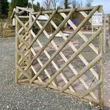 Rustic Panel Fencing Weston Sawmill