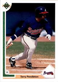 1991 Upper Deck Terry Pendleton #708 on Kronozio