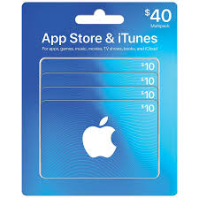 40 apple itunes gift card for 34 shipped