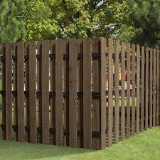 Outdoor Essentials Common 1 In X 6 In X 6 Ft Actual 0 5 In X 5 5 In X 6 Ft Chestnut Cedar Dog Ear Wood Fence Pi In 2020 Dog Ear Fence Wood Fence Wood Fence Design