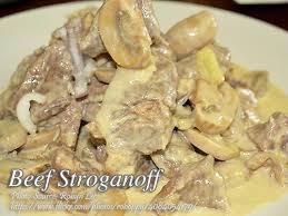 beef stoganoff recipe panlasang pinoy