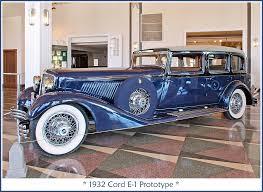 1932 Cord E-1 Prototype | Return visit to the Auburn Cord Du… | Flickr