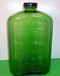 embossed refrigerator 2qt water bottle
