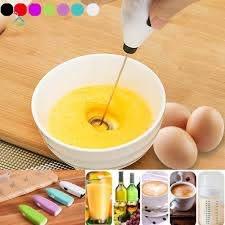 Máy đánh trứng cầm tay mini bằng điện thời trang tiện lợi