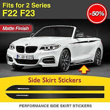M Performance Side Skirt Sill Stripe Decal Stickers Fits Bmw F22 F23 218 228 235 Archives Statelegals Staradvertiser Com