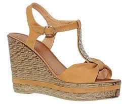 cognac 11 mve shoes womens high wedge