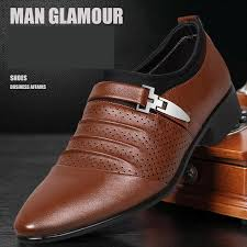 leather shoes men business casual
