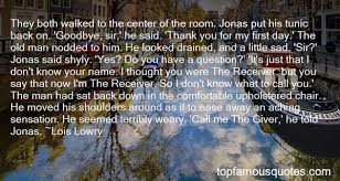 jonas the giver quotes best famous quotes about jonas the giver