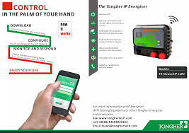 Wifi Energizer Electric Fence Alarm System Anti Thief Intruders For Home Security View Wireless Remote Control Electric Fence Energizer And Alarm Tongher Product Details From Shenzhen Tongher Technology Co Ltd On Alibaba Com