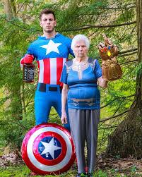 Ross Smith And His 93-Year-Old Grandma Dress-Up In Hilarious Outfits And  People Can't Get Enough