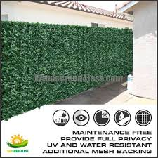 Windscreen4less Artificial Faux Ivy Leaf Privacy Fence Screen Decoration Panels Windscreen Patio Privacy Fence Screen Fence Screening Outdoor Privacy Panels