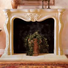 calais cast stone fireplace mantels