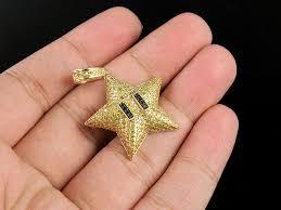 10k yellow gold canary black diamond