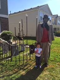 Little Miss Martha Diy Halloween Cemetery Fence