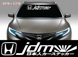 1x Jdm Kanji Racing Decal Sticker Mugen Windshield Decal 104 Jdm Stickers Jdm Decals Stickers