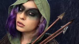 arrow inspired makeup tutorial