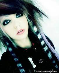 emo scene hair emo makeup