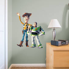 Fathead Woody Buzz X Large Officially Licensed Disney Pixar Removable Wall Decal Walmart Com Walmart Com