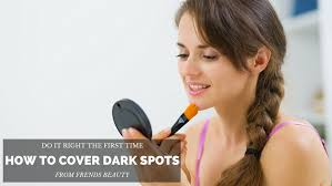 cover up dark spots the right way
