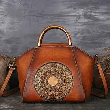 genuine leather luxury women handbags