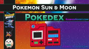 Pokemon Sun & Moon Pokedex • Legendary   Alola Form