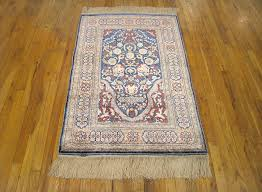 antique turkish hereke oriental rug